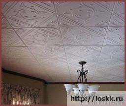 ламинированная-потолочная-плитка-обзор
