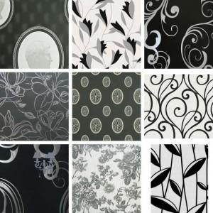 бело-черные-обои-для-стен-обзор