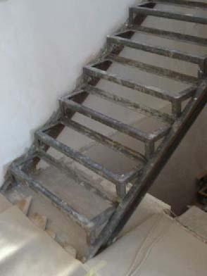Лестница из металла своими руками на второй
