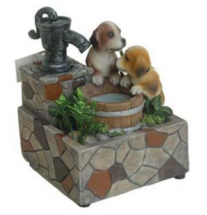садовые-фигуры-для-дачи-фонтанчик