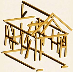 Строим фахверковый дом своими руками-2
