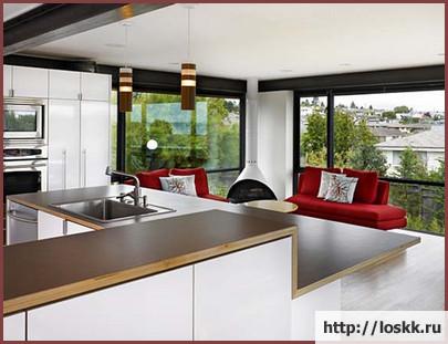 Фото: кухня - гостиная-5