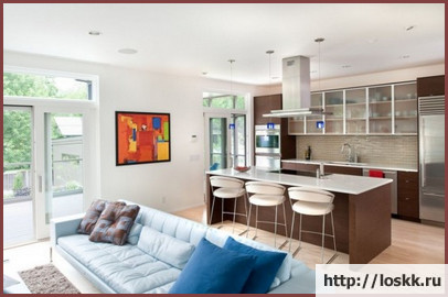 Фото: кухня - гостиная-7