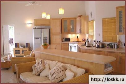 Кухня - гостиная - дизайн