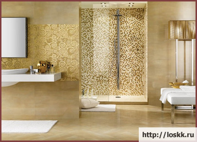 Красивый интерьер ванной комнаты, фото-1