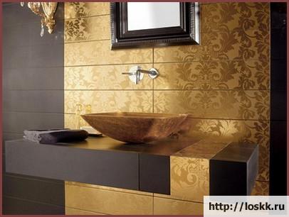 Красивый интерьер ванной комнаты, фото-2