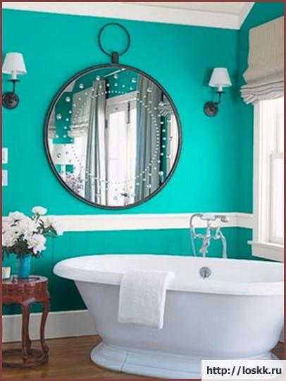 Красивый интерьер ванной комнаты, фото-4