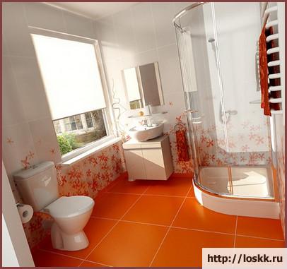 Красивый интерьер ванной комнаты, фото-6