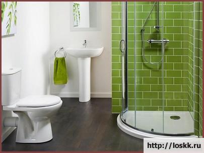 Красивый интерьер ванной комнаты, фото-7