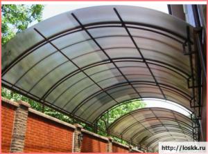 Размеры листа сотового поликарбоната – обычные и под заказ