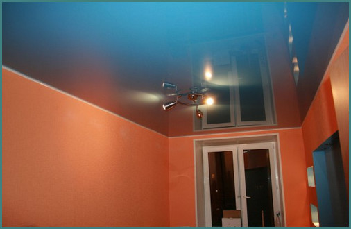Сатиновый натяжной потолок, обзор, минусы-1