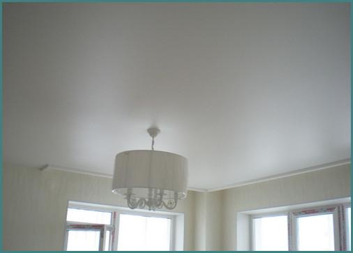 Сатиновый натяжной потолок, обзор, минусы