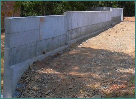 Подпорная стенка на участке с уклоном, обзор-2